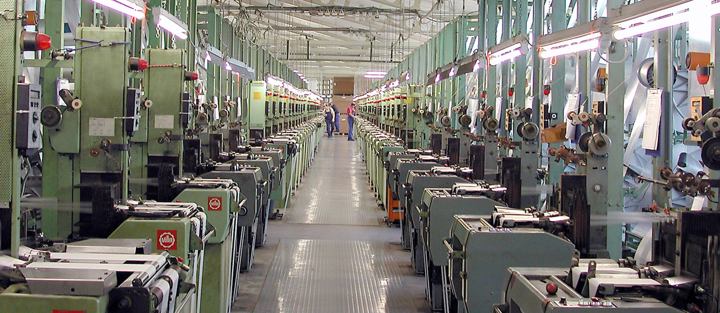 AMOHR Produktion Weberei / weaving